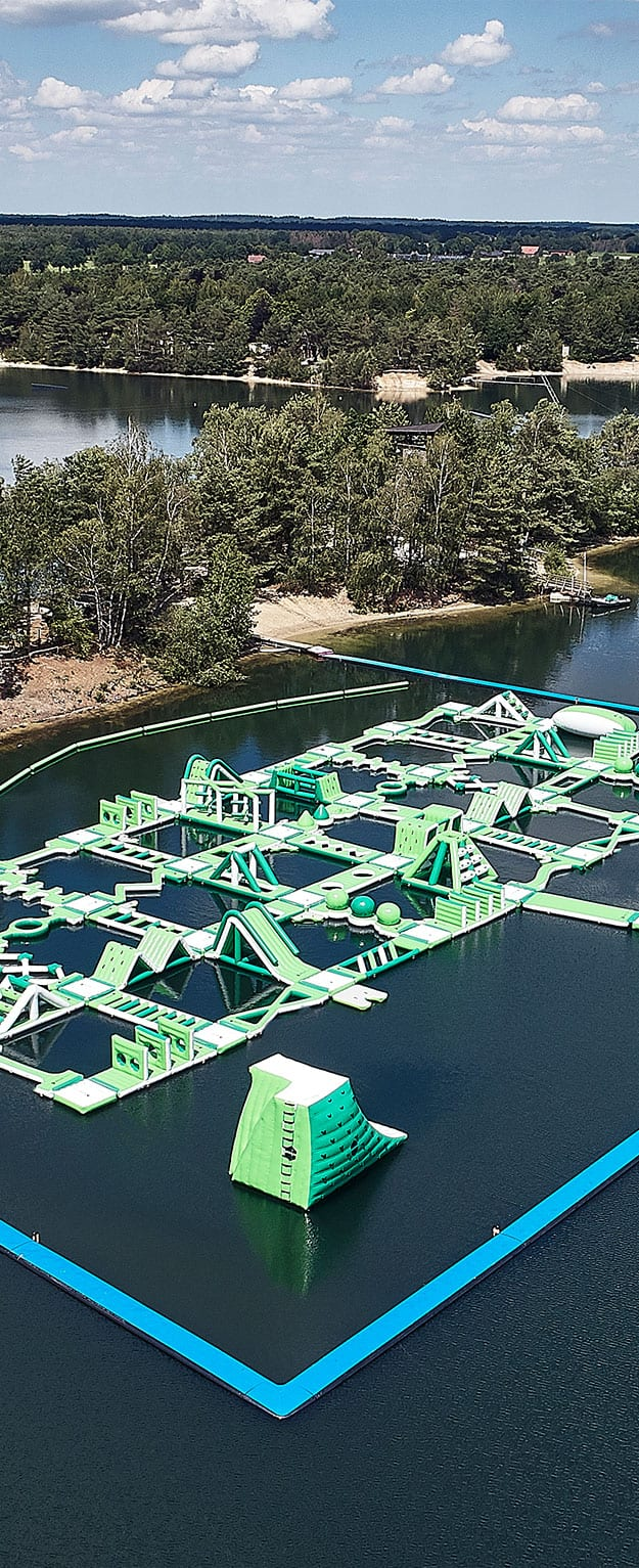 WATER.CAMP Aquapark Lommel Top View