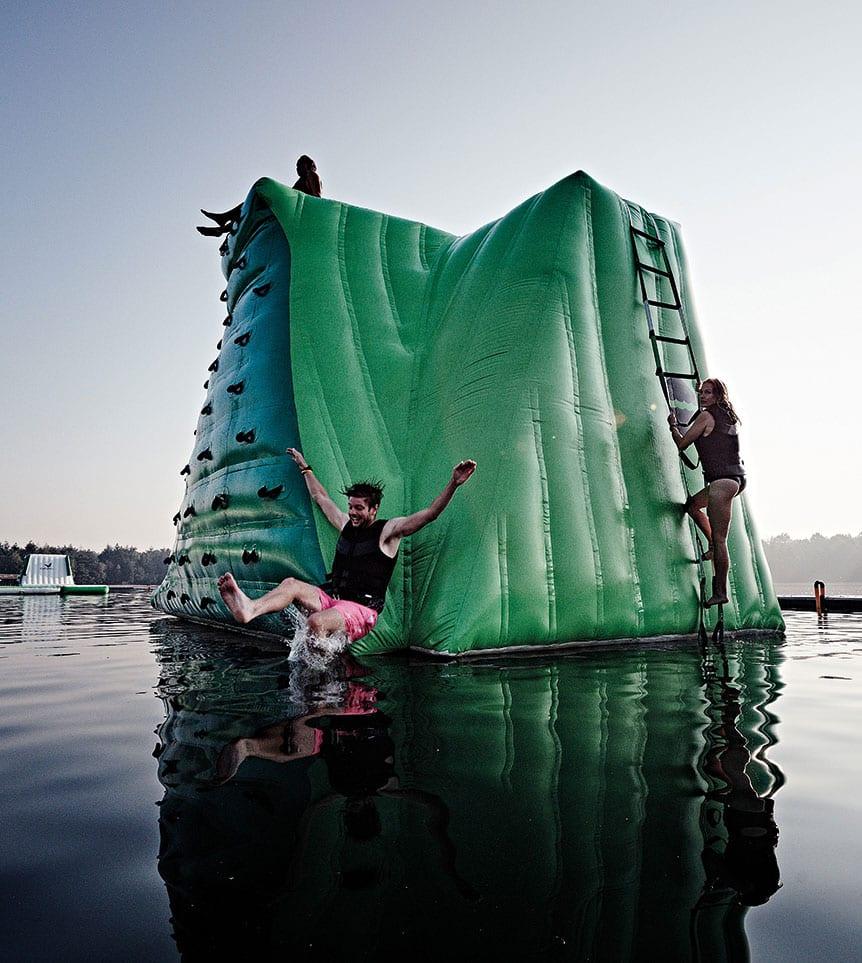 WATER.CAMP Aquapark Action Photo